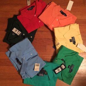 Ralph Lauren polo shirts size large